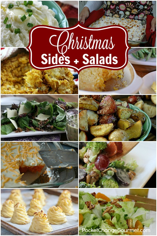 Sides For Christmas Dinner  Christmas Side Dishes and Salads