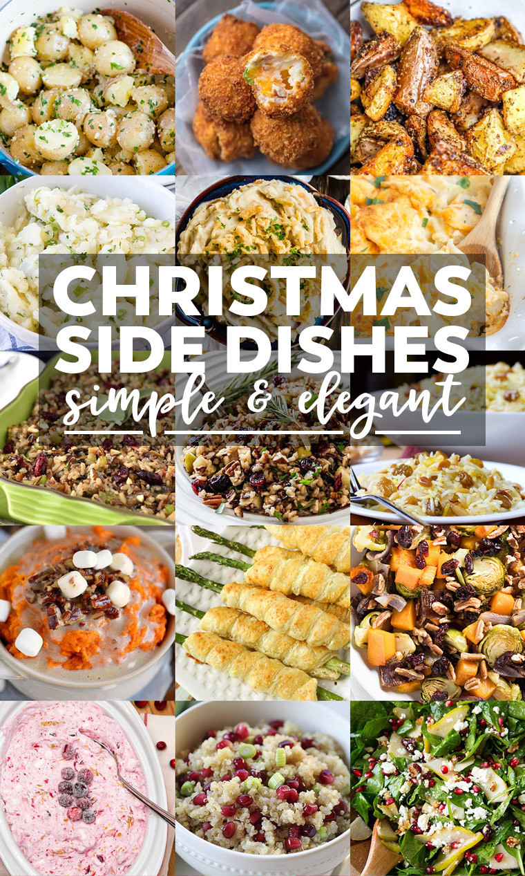 Sides For Christmas Dinner  35 Side Dishes for Christmas Dinner Yellow Bliss Road