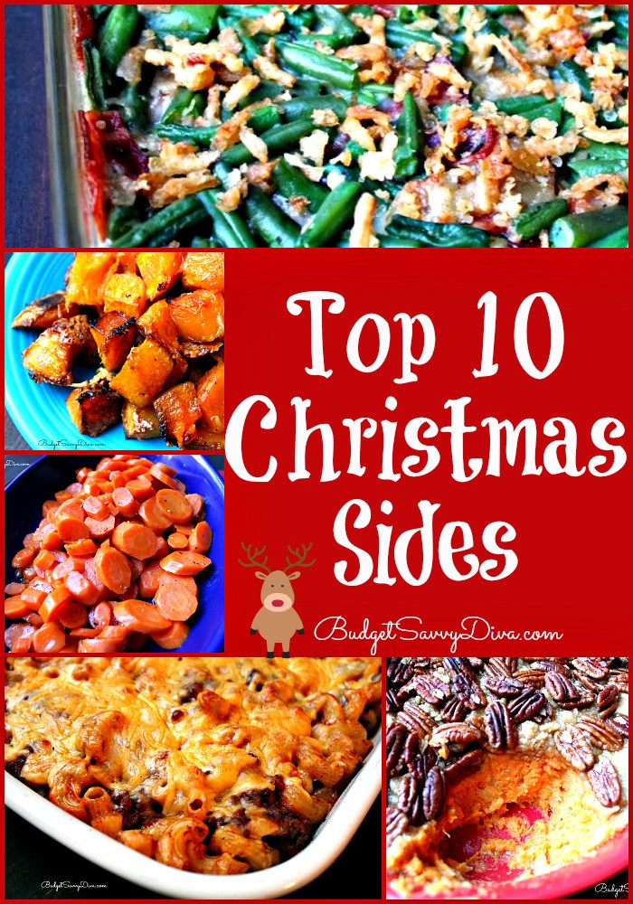 Sides For Christmas Dinner  Top 10 Christmas Sides Recipes