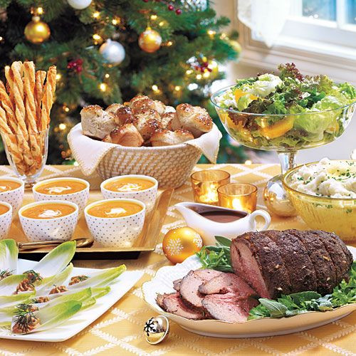 Simple Christmas Dinners  27 best Guests food images on Pinterest