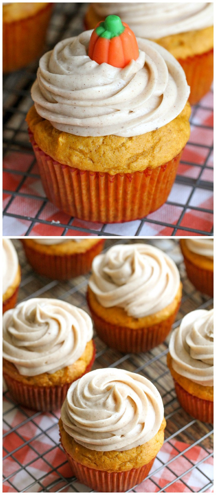 Simple Fall Desserts  Easy Pumpkin Cupcakes