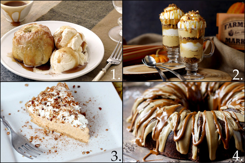 Simple Fall Desserts  Fall Dinner Party Ideas