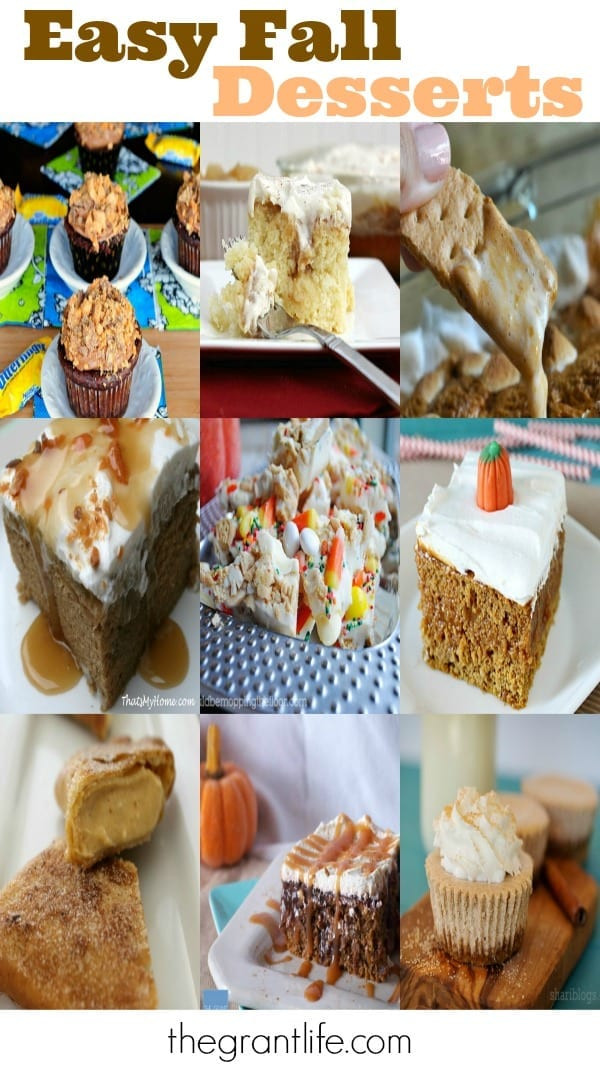 Simple Fall Desserts  Easy Fall Dessert Ideas mom makes dinner