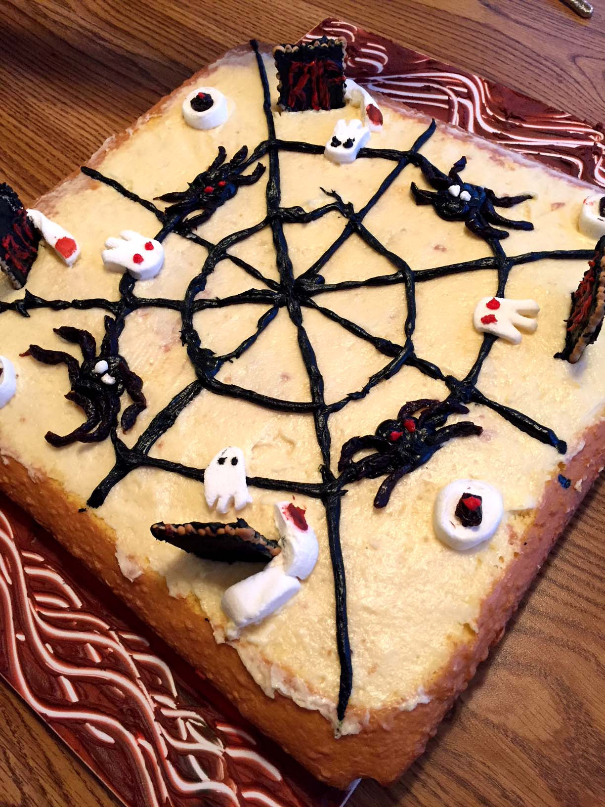Simple Halloween Cakes  Easy Halloween Cake Decorating Ideas For Spooky Cake
