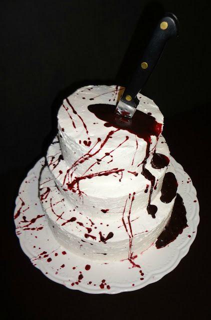 Simple Halloween Cakes  25 best ideas about Dexter cake on Pinterest