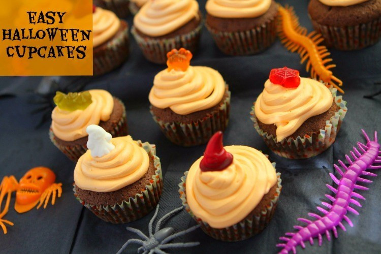 Simple Halloween Cupcakes  Easy Halloween Cupcakes Mummy Mishaps