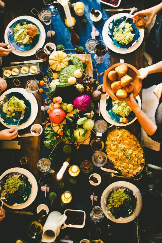 Small Thanksgiving Dinner  A Small & Swanky Thanksgiving Dinner — Gatherings from The