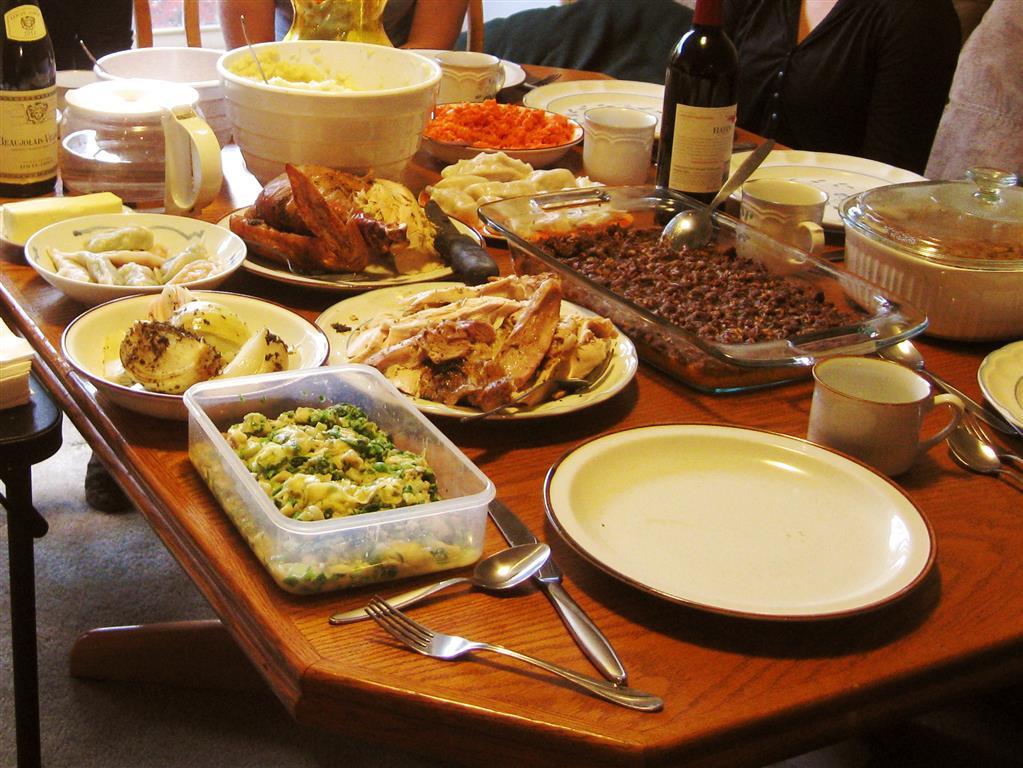 Small Thanksgiving Dinner  Me In Atlanta