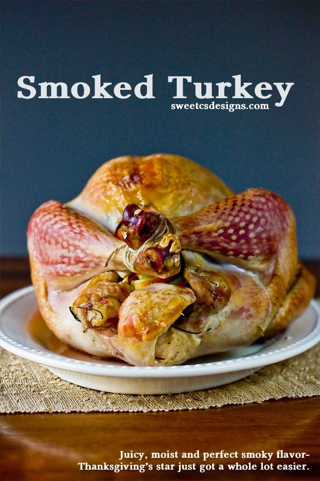 Smoke A Turkey For Thanksgiving  Over 25 Thanksgiving Recipes Carlsbad Cravings