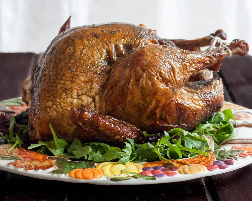 Smoked Thanksgiving Turkey Recipe  The Godfather s Smoked Turkey Goo Godmother A