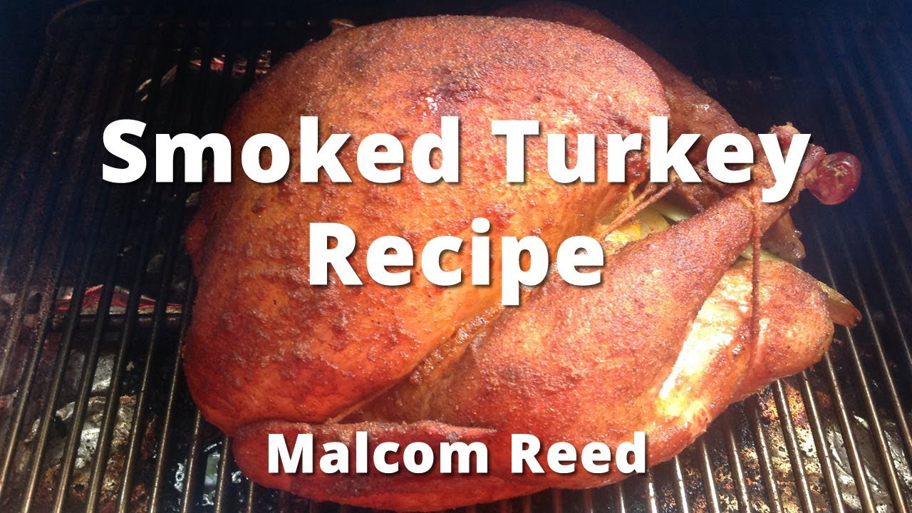 Smoked Thanksgiving Turkey Recipe  Smoked Turkey Recipe