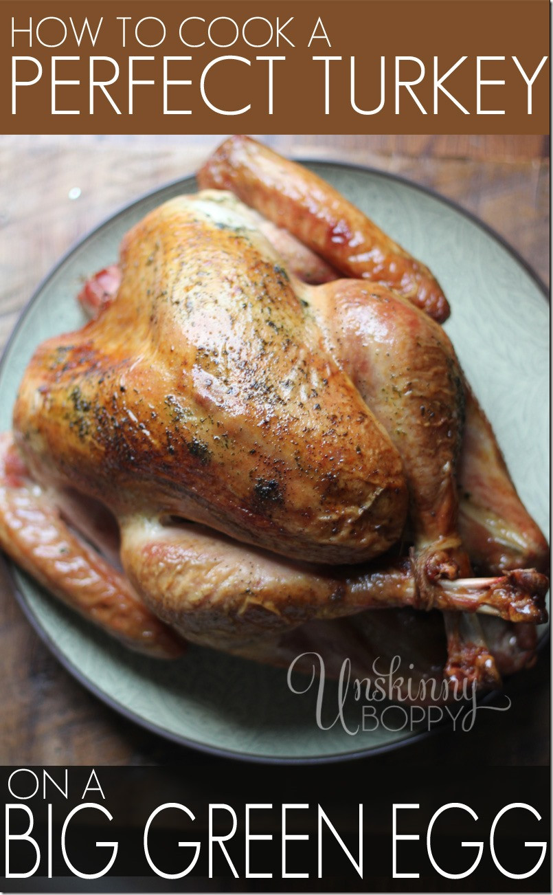 Smoked Thanksgiving Turkey Recipe  Perfect Thanksgiving Turkey Recipe Cooked on a Big Green Egg