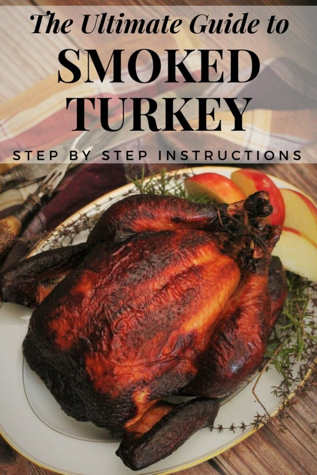 Smoked Thanksgiving Turkey Recipe  Smoked Turkey Recipe and Video