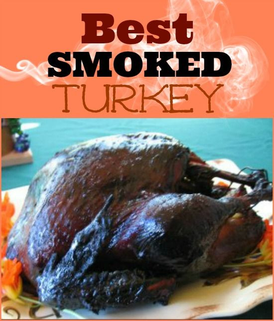 Smoked Turkey For Thanksgiving  Best Smoked Turkey Recipe Whats Cooking America