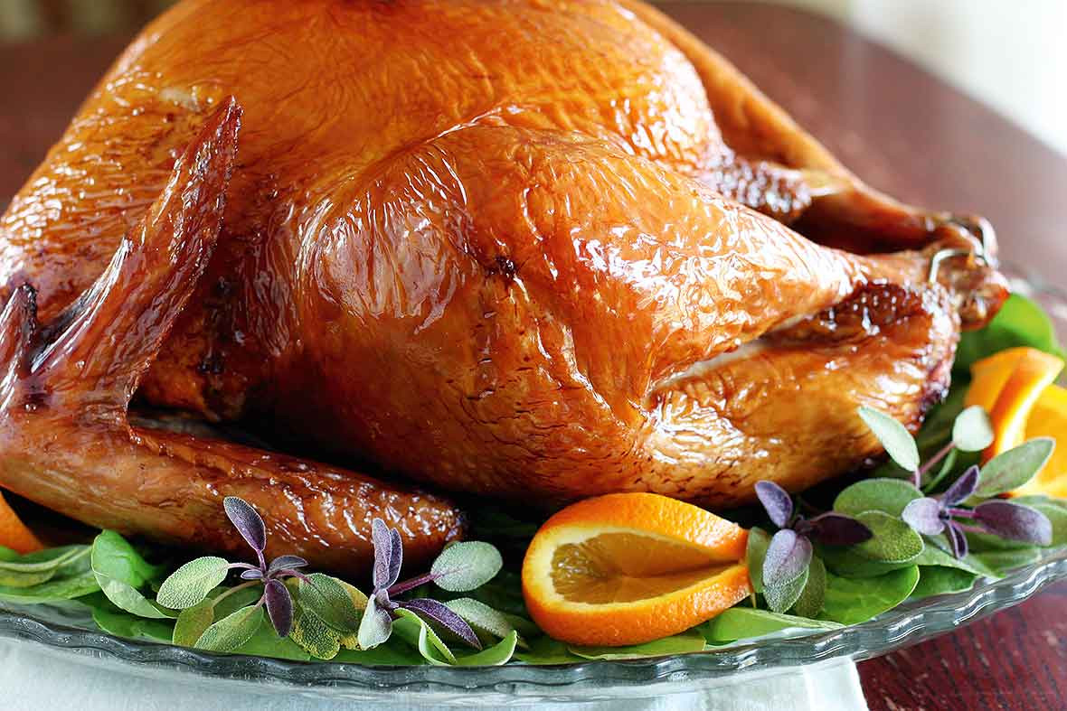 Smoked Turkey For Thanksgiving  Smoked Turkey Recipe