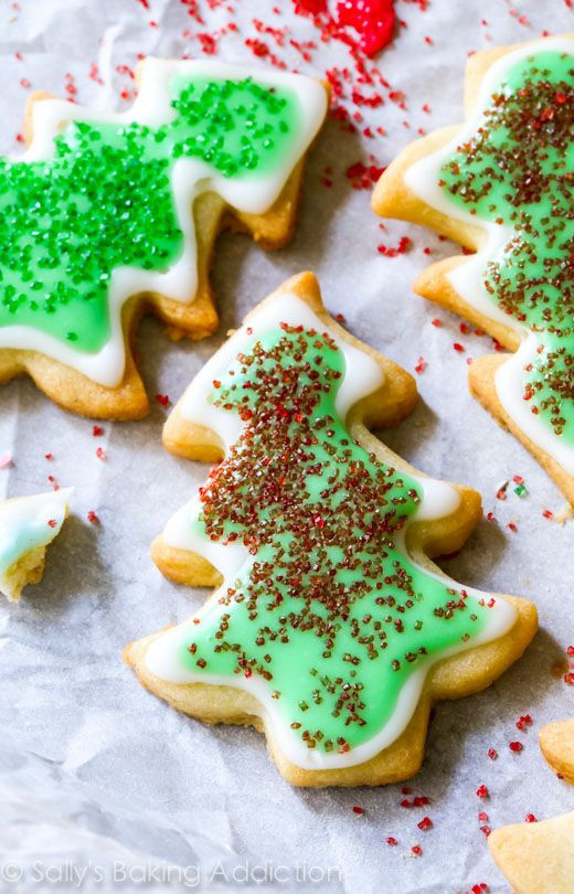 Soft Christmas Cookies Recipe  Holiday Cut Out Sugar Cookies with Easy Icing