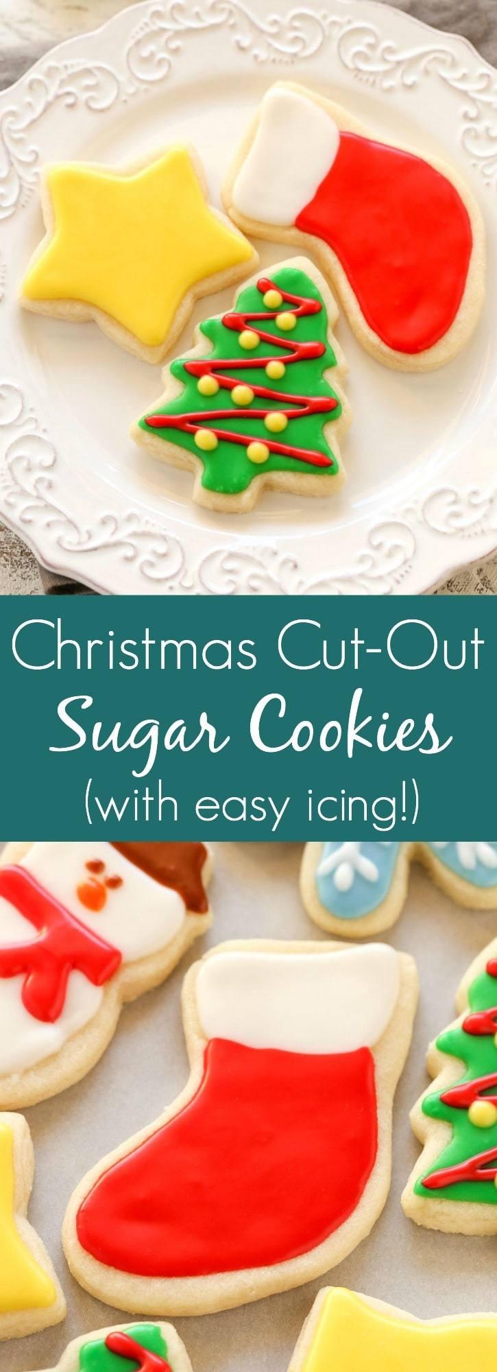 Soft Christmas Sugar Cookies  Soft Christmas Cut Out Sugar Cookies Live Well Bake ten