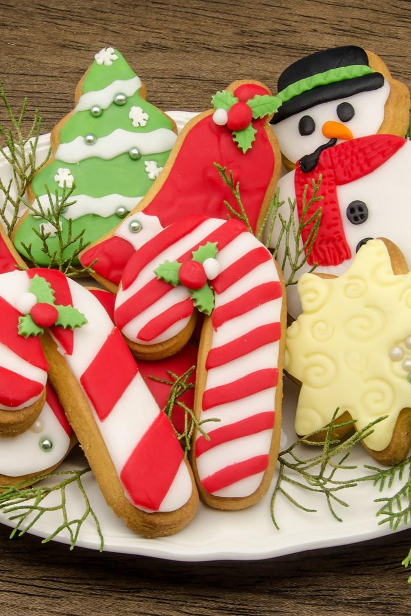 Soft Christmas Sugar Cookies  Soft Christmas Sugar Cookies
