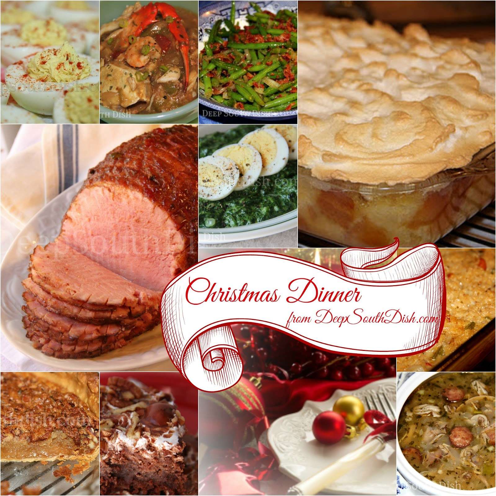 Soul Food Christmas Dinner Menu  Deep South Dish Southern Christmas Dinner Menu and Recipe
