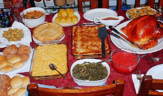 Soul Food Thanksgiving Dinner Menu  Thanksgiving Dinner Recipes