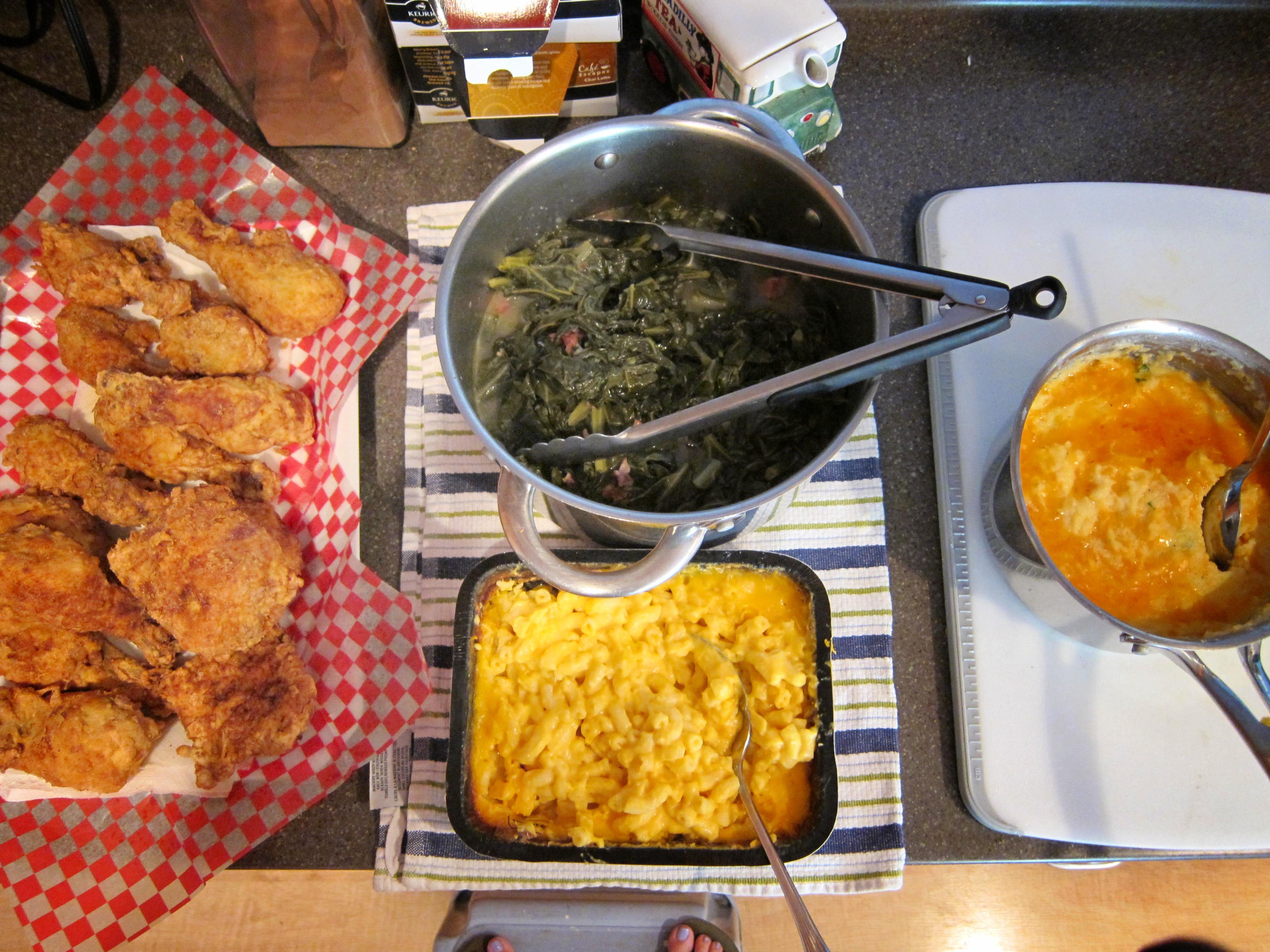 Soul Food Thanksgiving Dinner Menu  soul food