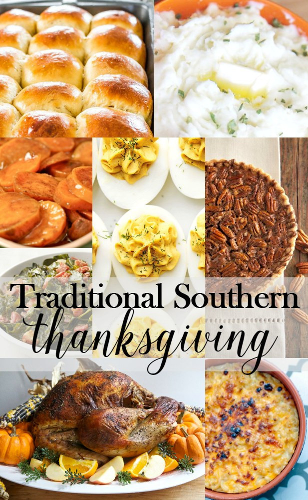 Soul Food Thanksgiving Dinner Menu  Traditional Southern Thanksgiving Menu