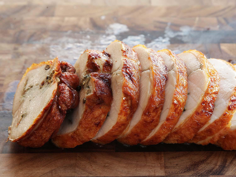 Sous Vide Thanksgiving Turkey  Deep Fried Sous Vide Turkey Porchetta Turchetta Recipe