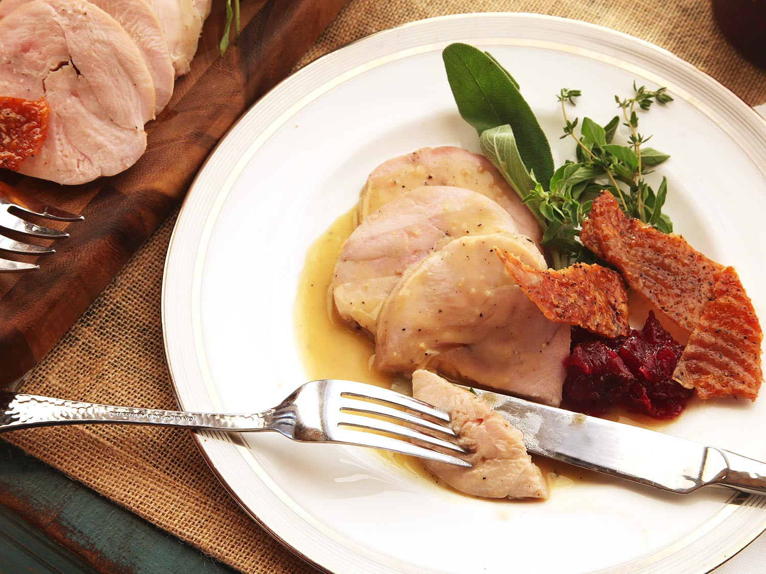 Sous Vide Thanksgiving Turkey  The Food Lab How to Cook Sous Vide Turkey Breast With