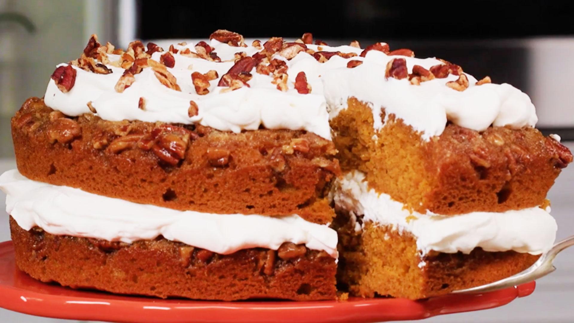 Southern Thanksgiving Desserts  Praline Pumpkin Torte Is The Perfect Thanksgiving Dessert