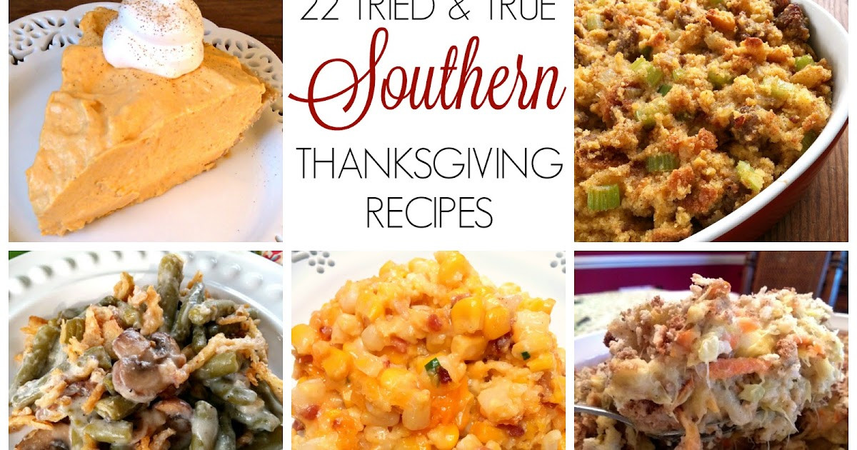 Southern Thanksgiving Desserts  South Your Mouth Southern Thanksgiving Recipes