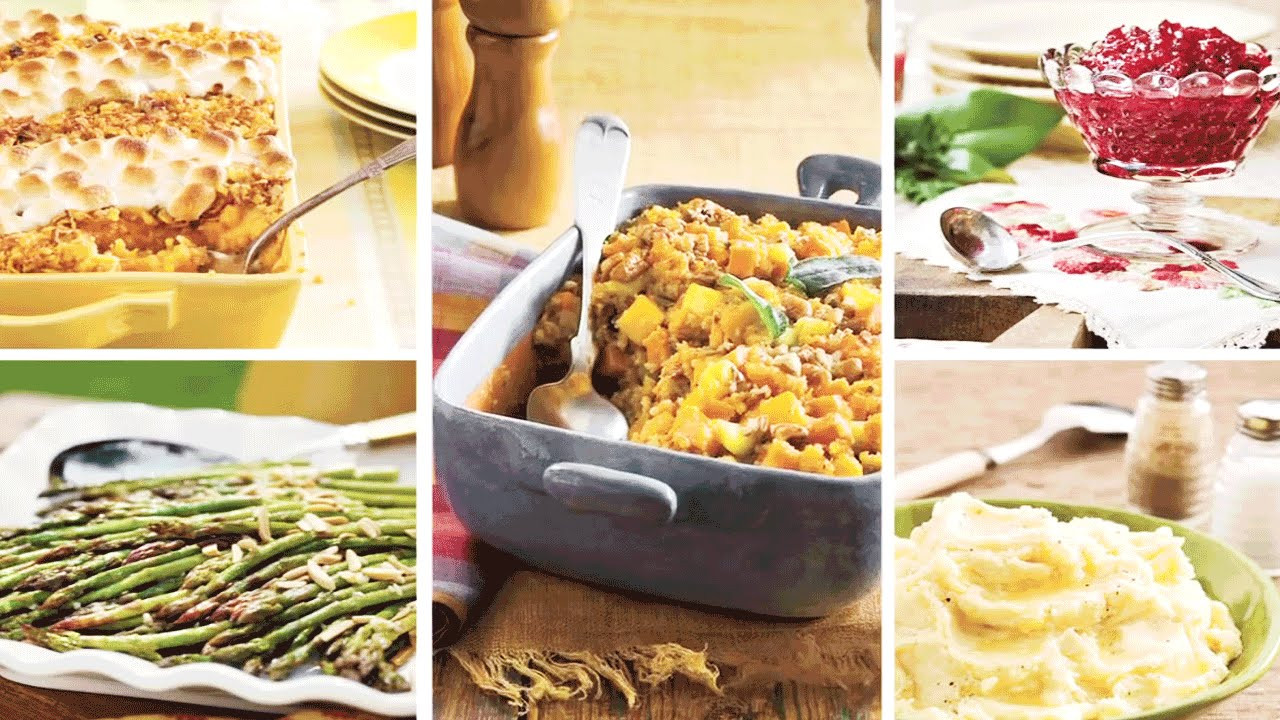 Southern Thanksgiving Side Dishes  Top 5 Quick & Easy Thanksgiving Side Dishes