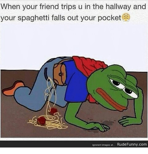 Spaghetti Falling Out Of Pocket  25 Best Memes About Spaghetti Falls Out