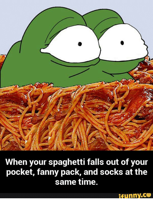 Spaghetti Falls Out Of Pocket  25 Best Memes About When Your Spaghetti Falls Out of Your