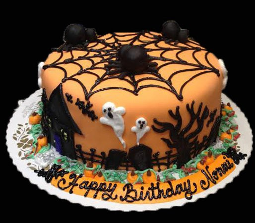 Spooky Halloween Cakes  Ninja Turtle Cake Picture of Alpine Pastry Shop
