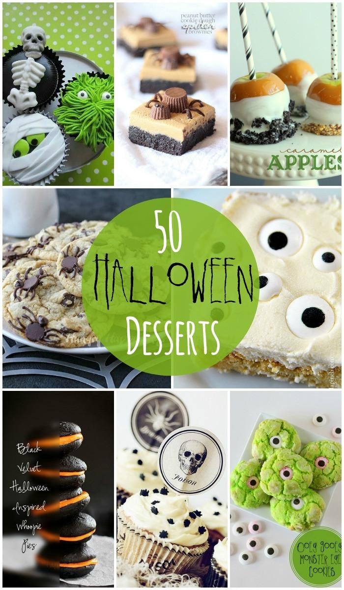 Spooky Halloween Desserts  Halloween Desserts