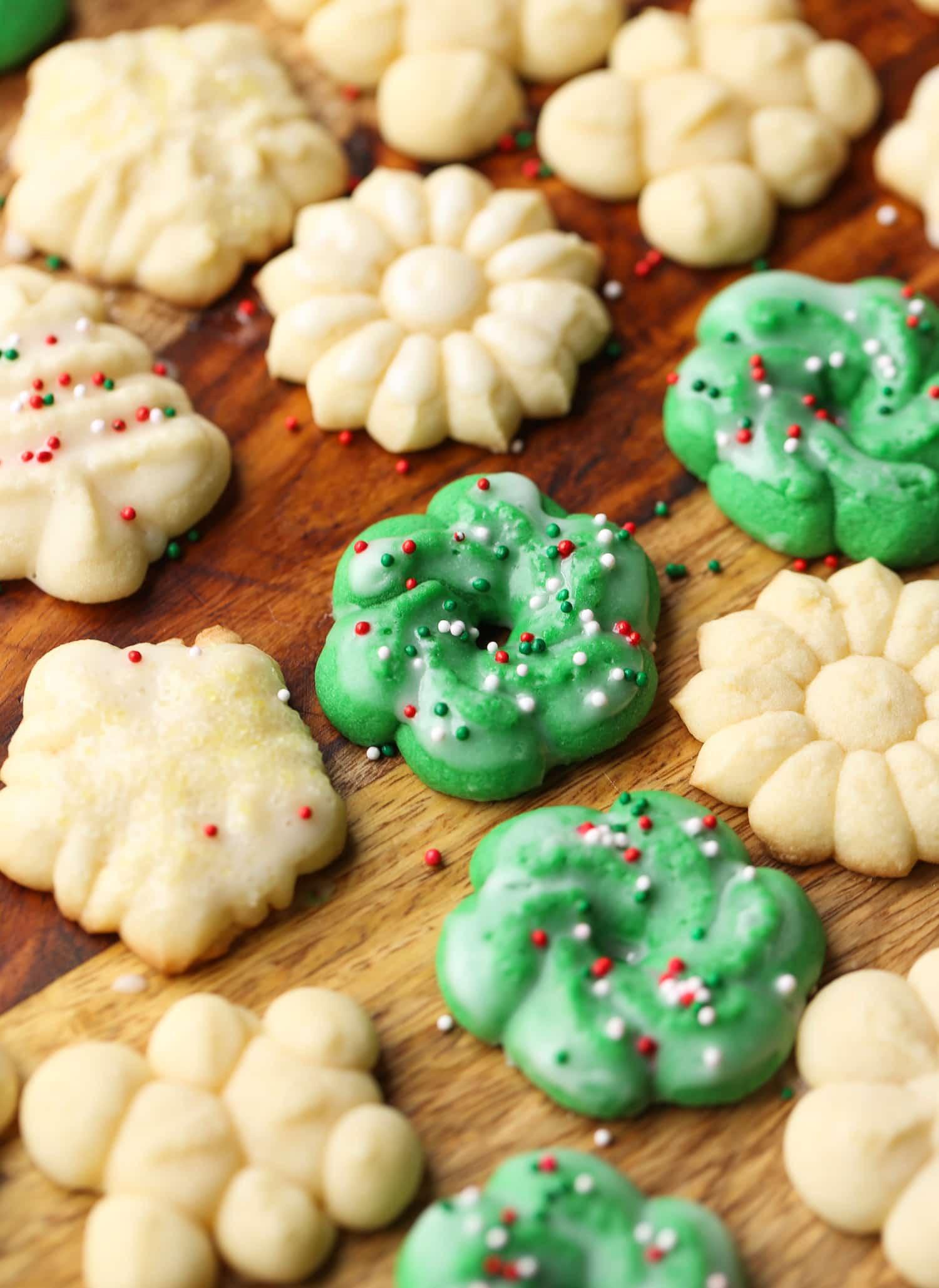 Spritz Christmas Cookies  Perfect Spritz Cookies Easy Holiday Baking