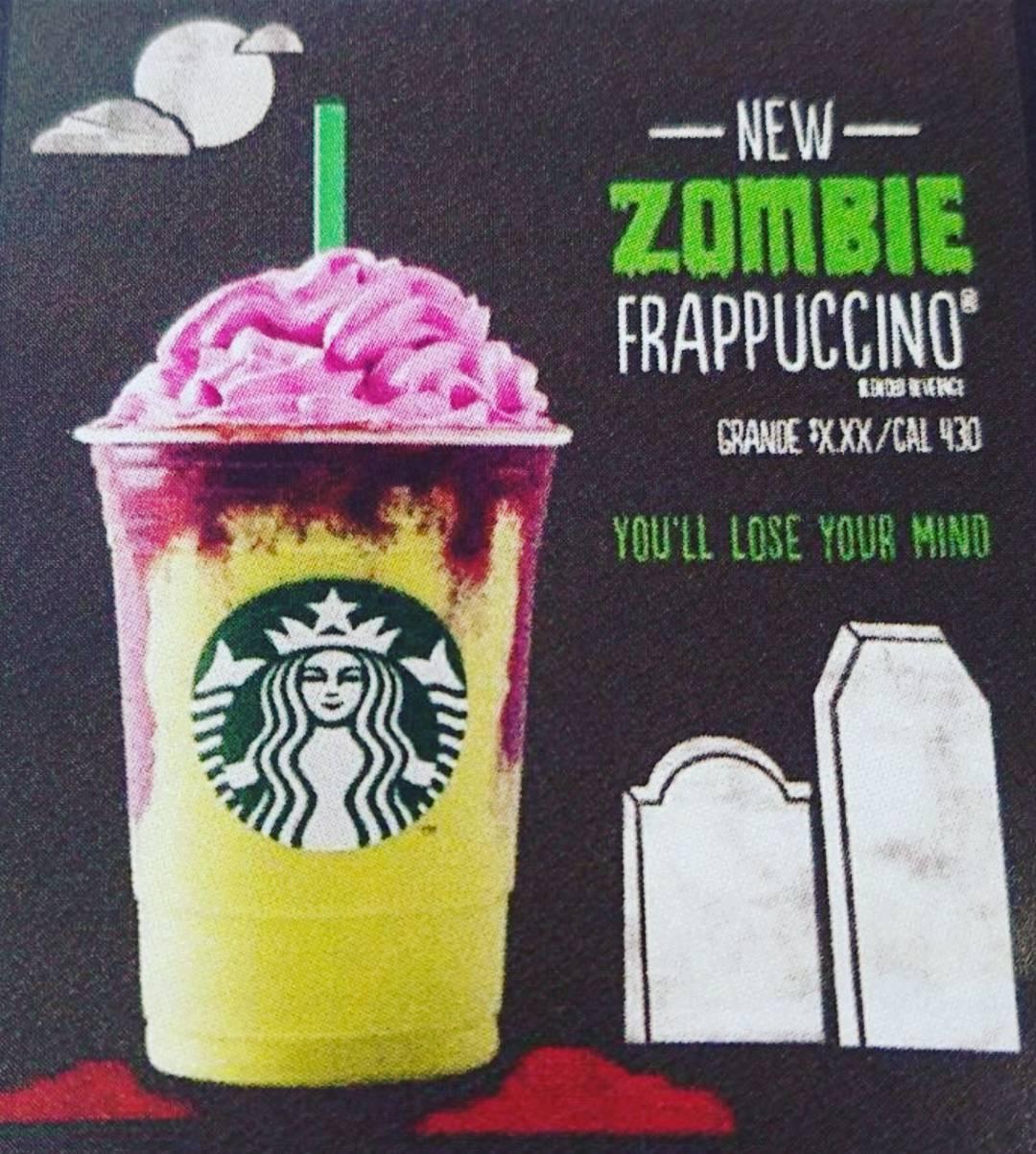 Starbucks Halloween Drinks 2019  Starbucks new Zombie Frappuccino – The Plaid Line
