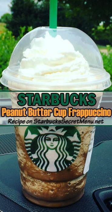 Starbucks Halloween Drinks 2019  Starbucks Peanut Butter Cup Frappuccino in 2019