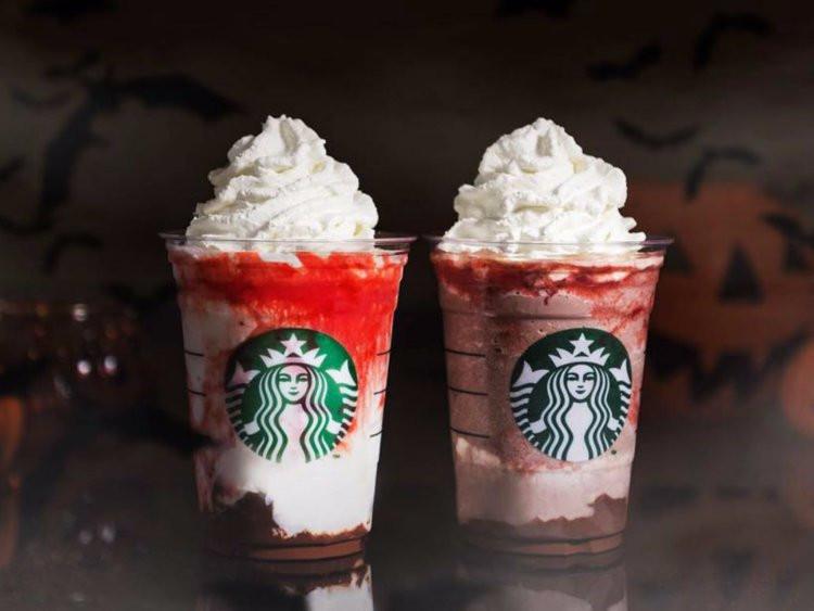 Starbucks Halloween Drinks 2019  Starbucks releases Vampire Frappuccinos for Halloween