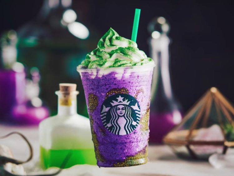 Starbucks Halloween Drinks  Starbucks Halloween drinks debut as Dunkin Donuts pushes
