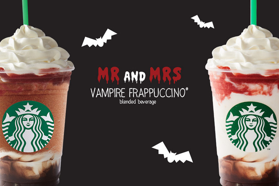 Starbucks Halloween Drinks  Web Coolness 200 Kit Kat flavors Halloween drinks at