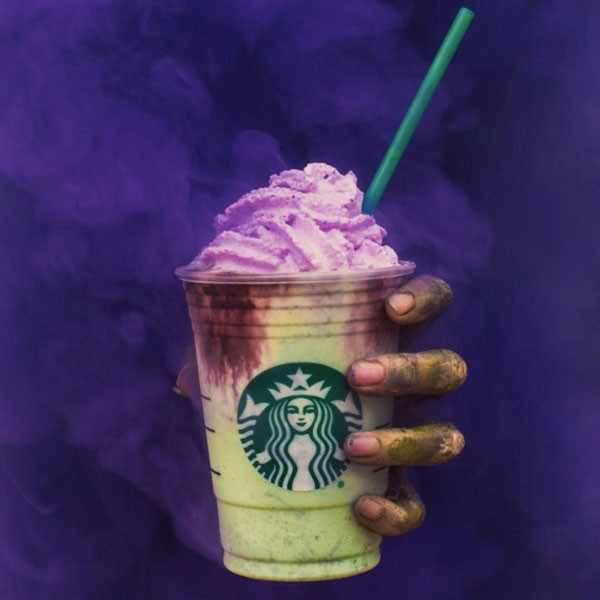 Starbucks Halloween Drinks  Starbucks Zombie Frap Worth It