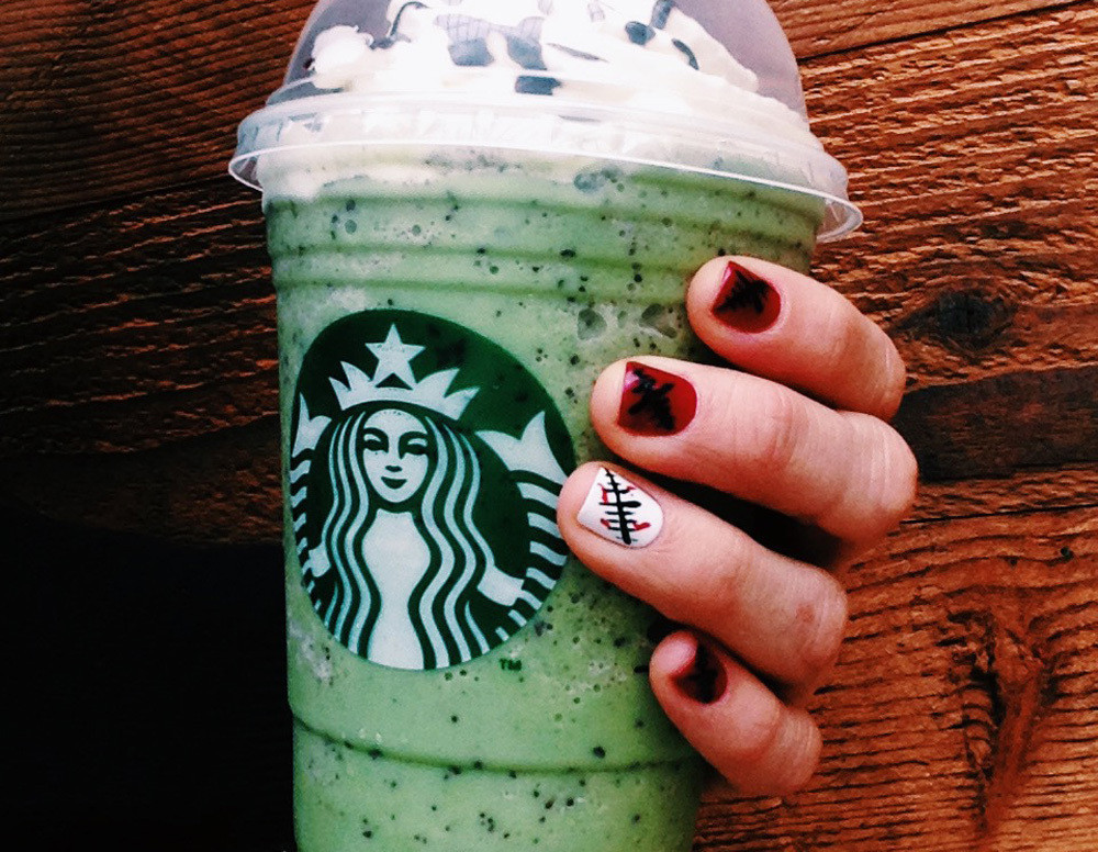 Starbucks Halloween Drinks  Now that s scary Starbucks has a Franken Frappuccino for