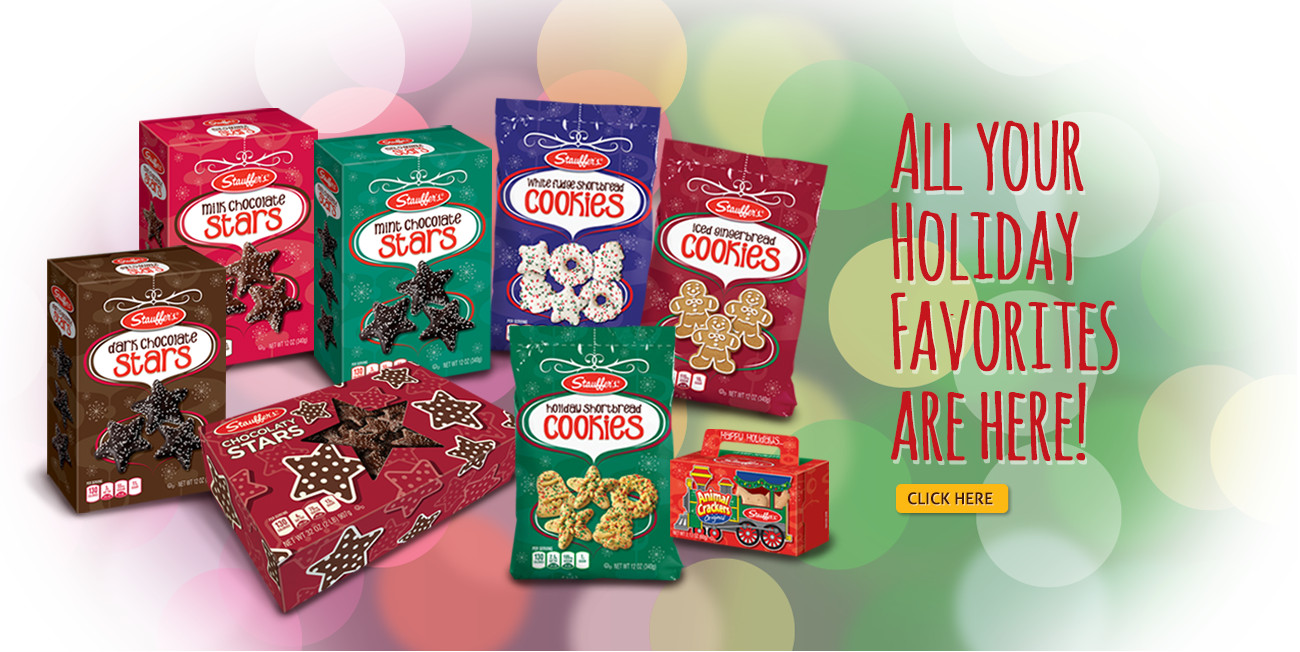 Stauffer Christmas Cookies  Animal Crackers and Cookies