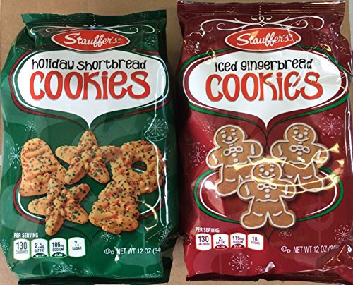 Stauffer Christmas Cookies  Breads & Bakery Stauffers Holiday Shortbread and Iced