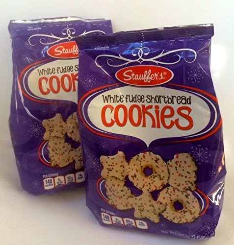 Stauffer Christmas Cookies  Amazon Stauffer s White Fudge Shortbread Cookies for