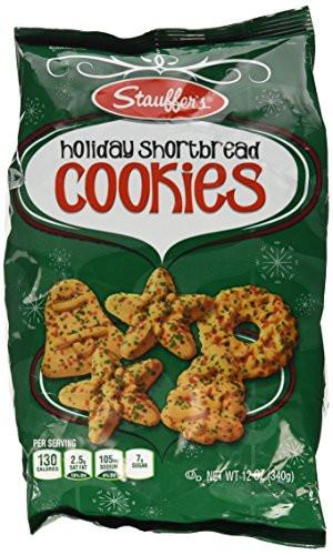 Stauffer Christmas Cookies  Stauffers Holiday Shortbread Cookies 12 oz Food Beverages