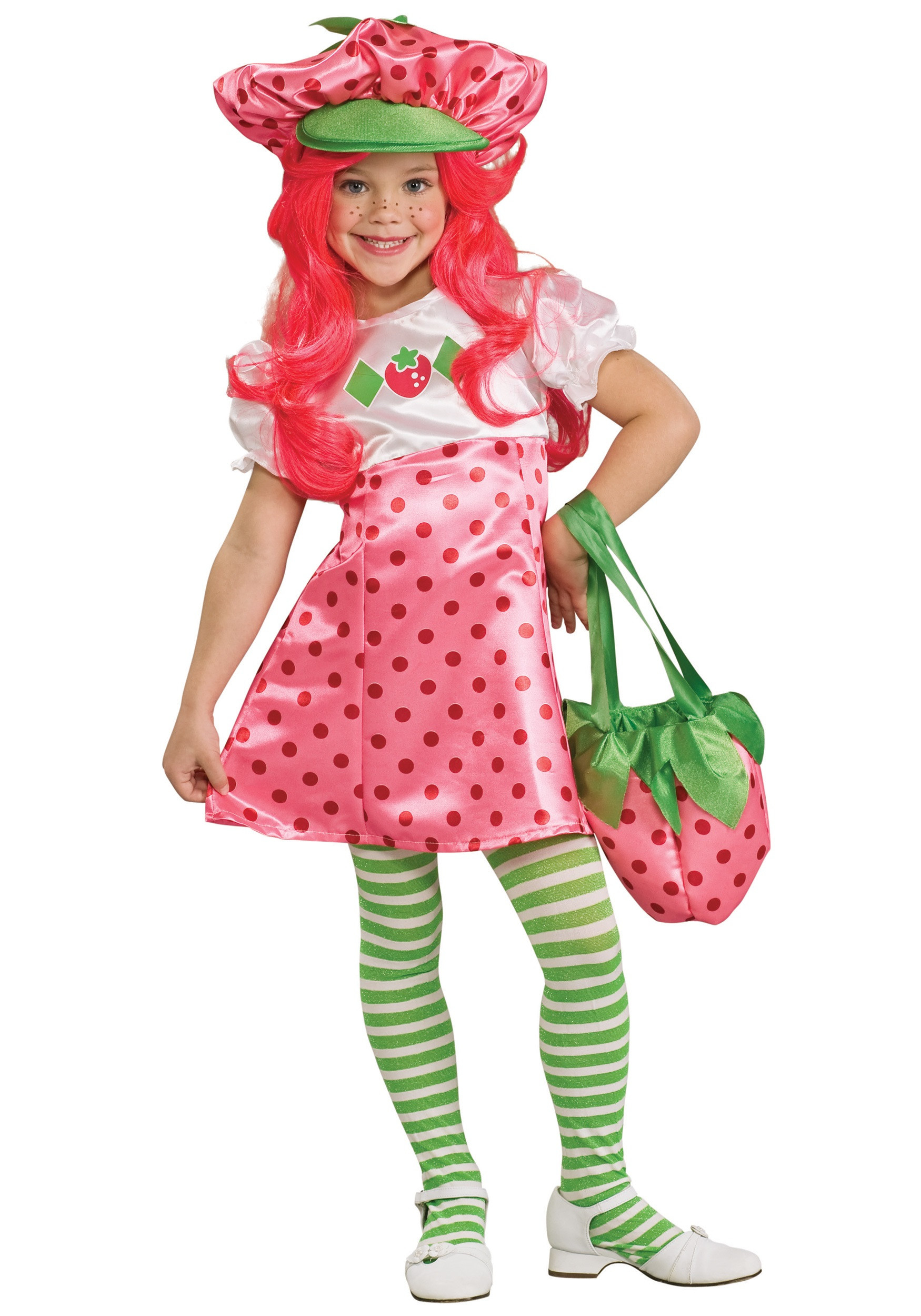 Strawberry Short Cake Halloween  Child Strawberry Shortcake Costume
