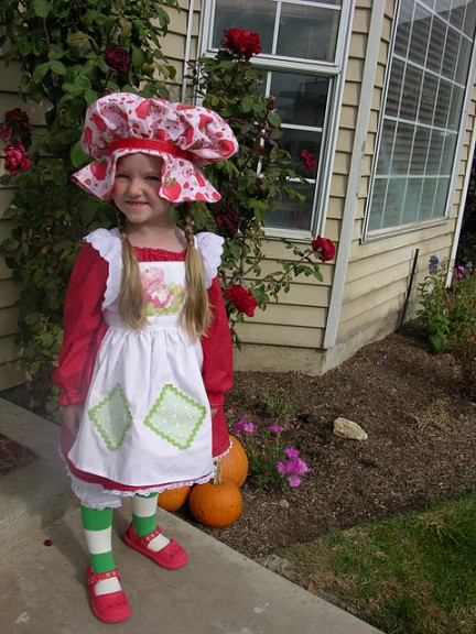 Strawberry Short Cake Halloween  Cutest Halloween Costumes for Kids