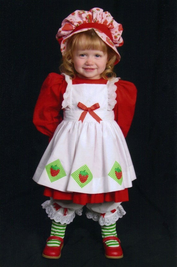Strawberry Shortcake Halloween Costume  Items similar to Vintage style Strawberry Shortcake